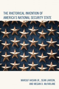 book cover the-rhetorical-invention-of-america-s-national-security-state