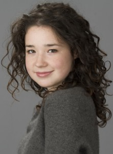 "Actress Sarah Steele, ""Bernice"""