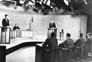The Kennedy-Nixon Debates, 1960 Source: Wikipedia.org