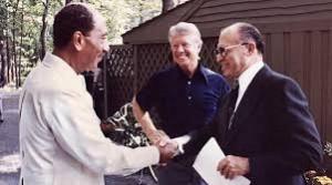 Sadat, Carter and Began Source: Wikipedia
