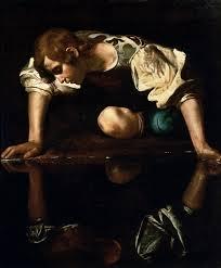 Caravaggio's Narcissus  Source: wikimedia.org