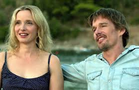 Julie Delpy and Ethan Hawke in Before Midnight Source: U-tube