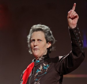 Temple Grandin at a TED Talk, 2010      Wikipedia.org