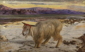 The Scapegoat, William Holman Hunt   Wikipedia.org