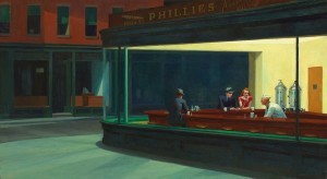 Edward Hopper's Nighthawks, Wikipedia.org