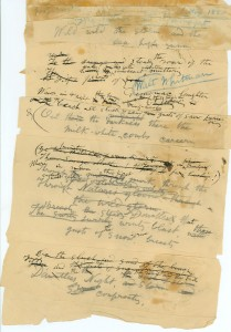 Whitman-pasted-notes-for a poem LOC