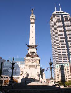 Indianapolis Civil War Monument Wikipedia.org