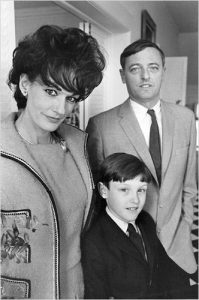 Christopher Buckley with his Parents